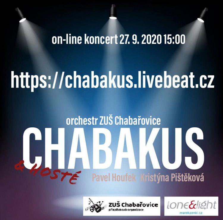 On-line koncert CHABAKUS
